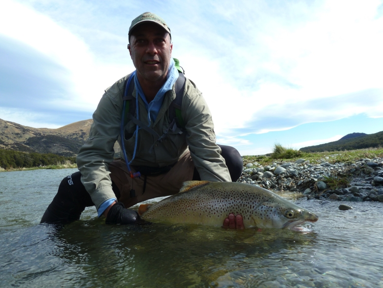 Wanaka fly fishing - Reflections